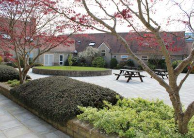 Boarding House Garden Area